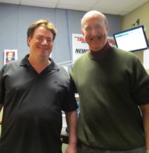 Author Jim Berkenstadt with Radio Show Host Mitch Henck