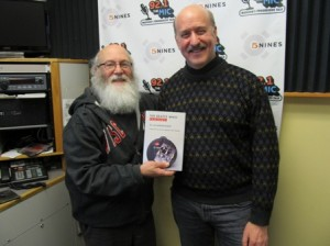 Stu Levitan with Beatles Author Jim Berkenstadt